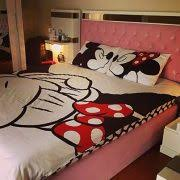 minnie mouse bedroom set full size double queen size quilt duvet