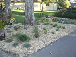 winning front yard landscaping ideas with rocks home designs