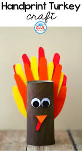 how to make a handprint turkey craft for thanksgiving