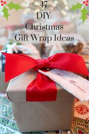 17 diy christmas gift wrap ideas my pinteresting life