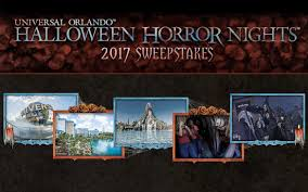 when was the first halloween horror nights dare to enter the halloween horror nights sweepstakes hhn 27