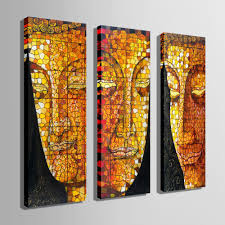 e home oil painting buddha face decoration painting home decor on