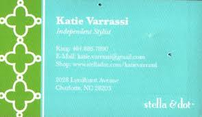 Stella And Dot Business Cards Wearethecapefear