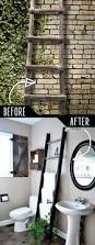 Small Bathroom Towel Rack Ideas by Best 25 Ladder Towel Racks Ideas On Pinterest Rustic Bathrooms
