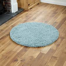 small to large rugs 5cm high pile soft very thick circle round