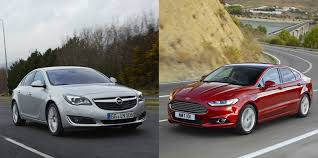 opel insignia 2017 wagon opel insignia vs ford mondeo changing lanes