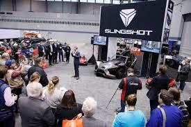 2018 cas slingshot press conference chicago auto show