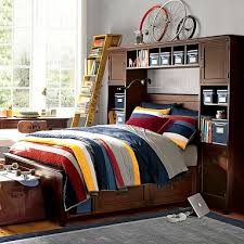 Pottery Barn Teen Bookcase Designer Love Storage Bed
