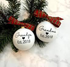 pregnancy announcement ornaments