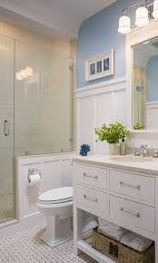 Award Winning Master Bathroom by How To Install Wainscoting For A Traditional Bathroom With A