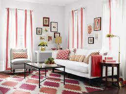 red and white living room interior theme centerfieldbar com