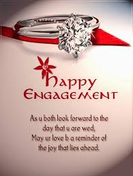 happy engagement ring glitter