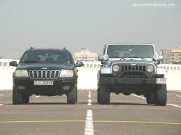 wrangler jeep 2010 comparo 2010 jeep wrangler vs 2002 jeep grand cherokee drive arabia
