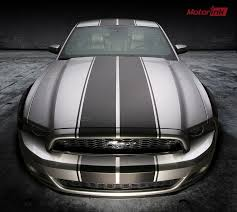 Black Mustang With Green Stripes Mustang Racing Stripes Graphics Decals Ebay