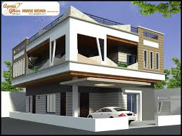 Duplex House Front Elevation Designs 2017 Floor And