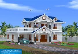 Bhk Kerala Style Home Designed Construction Green Homes Kaf