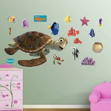 pixar finding nemo wall decals by fathead disney pixar finding nemo wall decals by fathead