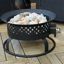 Lowes Firepits Pit Lava Rock In Pit Patio Recycled Glass Volcanic
