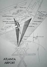 Atlanta Airport Terminal Map Delta by Expansion At Atlanta U0027s Temporary Terminal Sunshine Skies