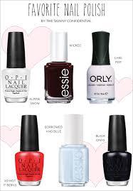 favorite nail polish colors