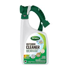 scotts 32 oz liquid outdoor cleaner 51060 weed u0026 feed ace