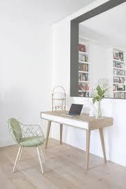 d orer un bureau comment meubler et décorer un bureau scandinave blanc within meubles