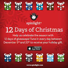 spinlight studio is offering u201c12 days of christmas u201d promotion