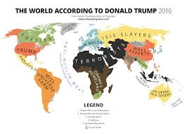 Mapping The World With Art by The World According To Donald Trump U2013 Atlas Of Prejudice