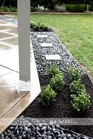 Best 25 Pebble Patio Ideas On Pinterest Landscaping Around by 25 Beautiful Patio Edging Ideas On Pinterest Big Garden