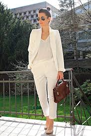 All White Attire For 7 Office Wear Ideas How To Not Dress Boring To Work Fashiontag