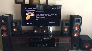 klipsch reference home theater system klipsch speakers setup demo r 28f youtube