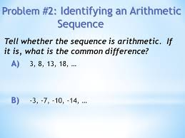objectives to identify and extend patterns in sequences to