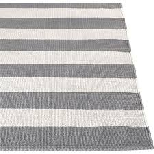 Black And White Stripped Rug Gray And White Striped Rug Olin Grey Striped Cotton Dhurrie Rug
