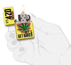 authentic zippo lighter let u0027s get baked design zippo com