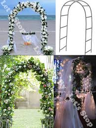wedding arches ebay new 90 white metal arch wedding party bridal prom garden floral