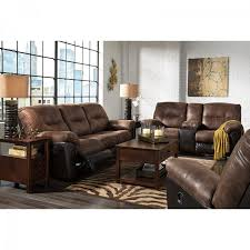 Two Tone Reclining Sofa Two Tone Faux Leather Reclining Sofa Marvelous Leather