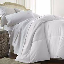 Chezmoi Collection White Goose Down Alternative Comforter Seasons Collection Light Warmth Twin White Goose Down Comforter Ebay