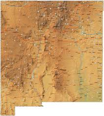 Map New Mexico by State Of New Mexico Map Free Printable Maps