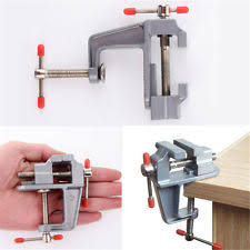 Hobby Bench Vice Mini Small Vise Jewelry Hobby Mold On Table Bench Vice Repair Tool