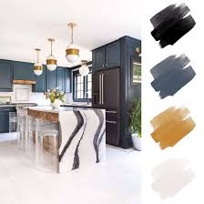kitchen color schemes with black cabinets 6 beautiful kitchen color schemes for every style according