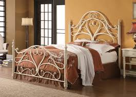 metal king bed frame bralton metal king bed antique bronze the