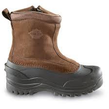 guide gear men u0027s insulated side zip winter boots 400 grams
