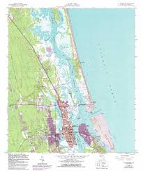 Map East Coast Florida by Saint Augustine Topographic Map Fl Usgs Topo Quad 29081h3