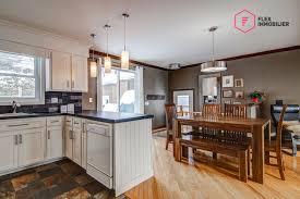 plancher ardoise cuisine plancher cuisine bois cuisine ouverte sur salon en ides