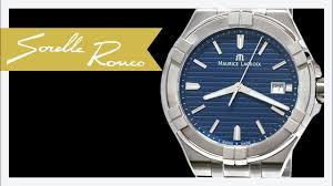 blue quartz bracelet images Maurice lacroix aikon blue quartz bracelet 42 mm jpg