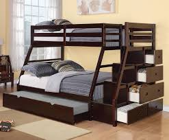 Viv Rae Reece Twin Over Full Bunk Bed With Storage Ladder And - Full and twin bunk bed