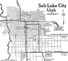 Map Of Salt Lake City Utah by Utah City Maps At Americanroads Com