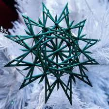 traditional german straw ornament create