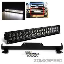 f250 led light bar for 11 15 f250 f350 f450 21 5 120w cree led light bar bumper