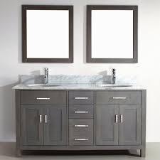 Double Sink Bathroom Vanity Decorating Ideas by Captivating Decorating Ideas Using Rectangular Purple Laminate